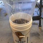003-Bucket Liners - wort with slack pulled out of bag