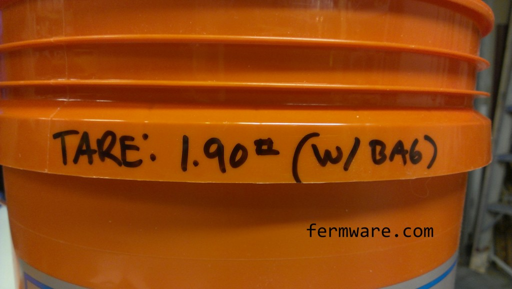 008-Grain Storage-Tare Bucket