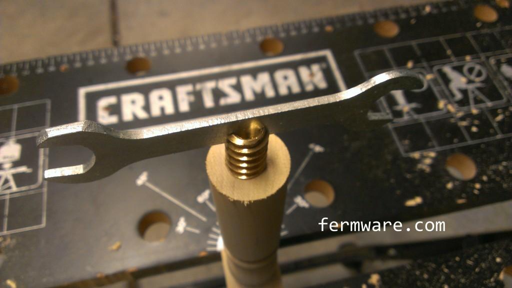 009-install brass insert 3