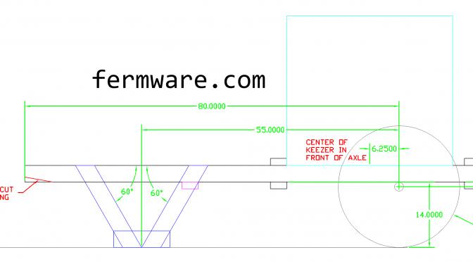 Mein Bierwagen Part 2 – Building the Frame