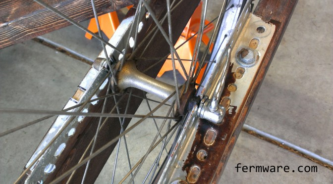 Mein Bierwagen Part 3 – Bicycle Wheel Attachment