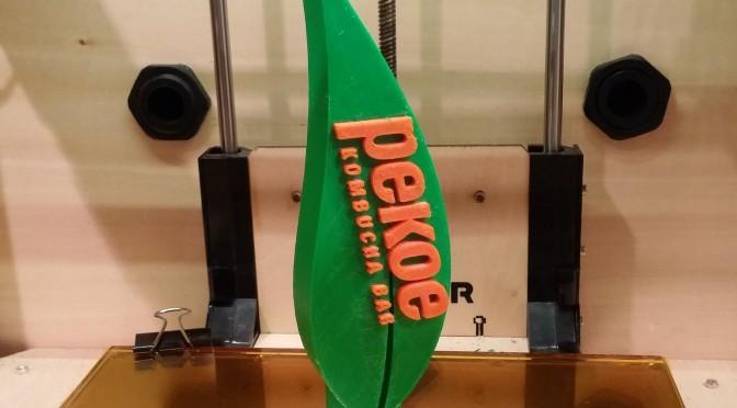 3D Printed Kombucha Tap Handles