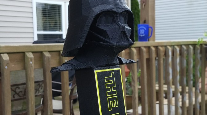 Darth Vader Tap Handle