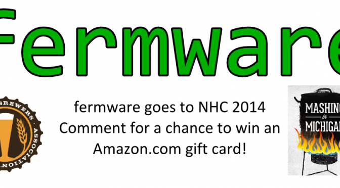 Fermware goes to NHC 2014