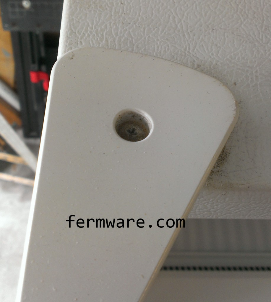 top hinge cover