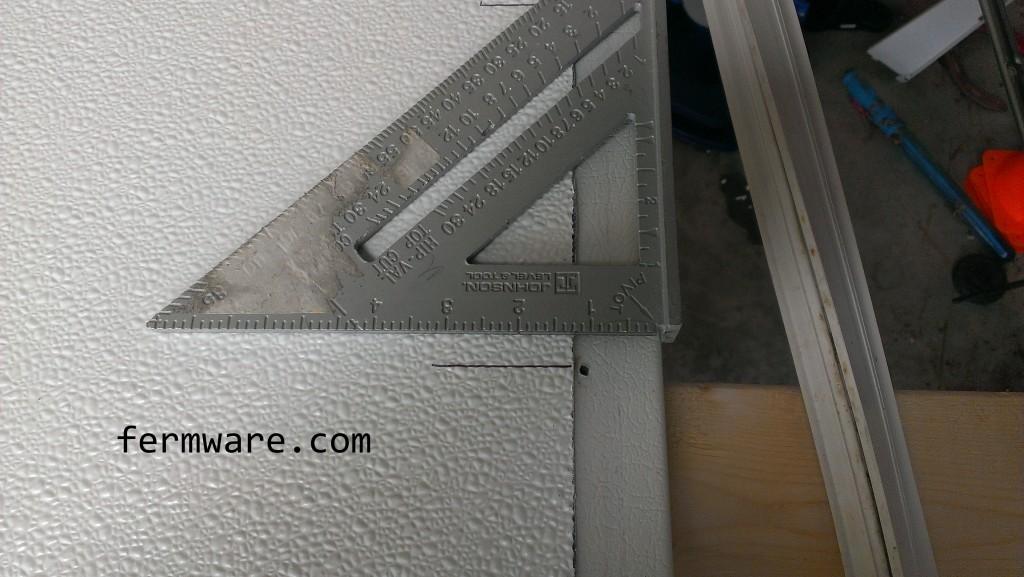 transferring holes to FRP